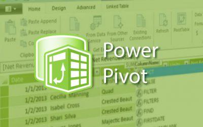 PowerPivot y DAX para Excel